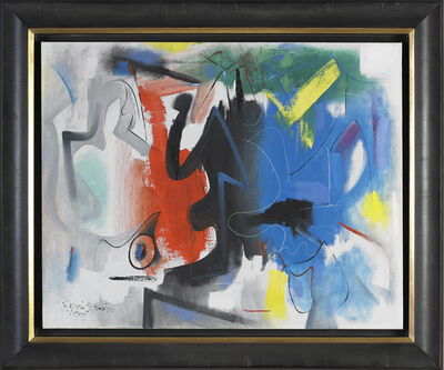 Byron Browne, 'Abstract Composition', 1957
