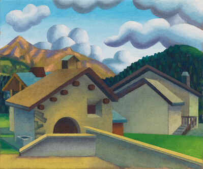 Salvo, 'Surlej, Via d'Alp con Piz Nair', 2011