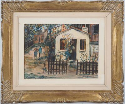 Maurice Utrillo, 'The Maquis in Montmartre', 1924.00