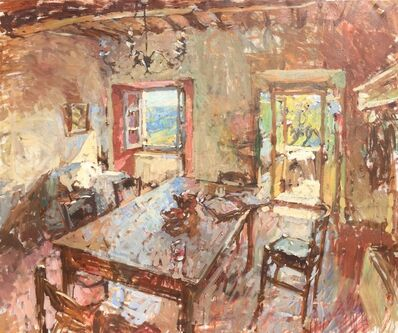 Ben Fenske, 'Sunlit Interior', 2018