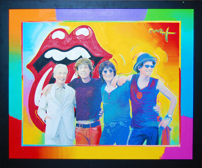 Peter Max, 'Rolling Stones', 2001