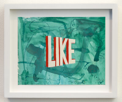 Wayne White, 'LIKE', 2015