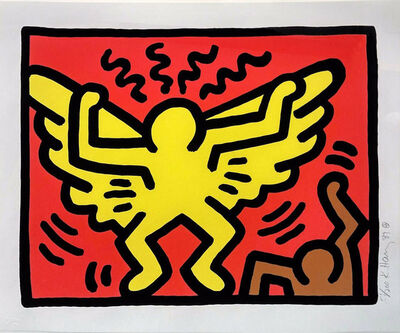 Keith Haring, 'Pop Shop IV, #1', 1989