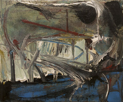 Harold Town, 'Hommage to Turner', 1959