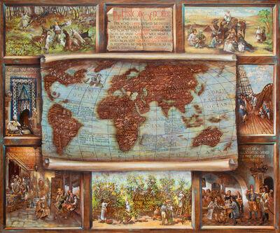 Vali Irina Ciobanu, 'History of Coffee map', 2016