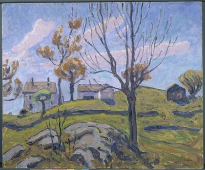 Allen Tucker, 'Autumn Farm', 1931