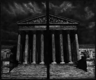Robert Longo, 'Study of Supreme Court Split', 2018
