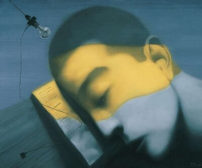 Zhang Xiaogang, 'Mercury Sea', 2009