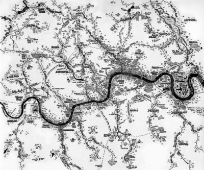 Stephen Walter, 'The Rivers of London', 2014