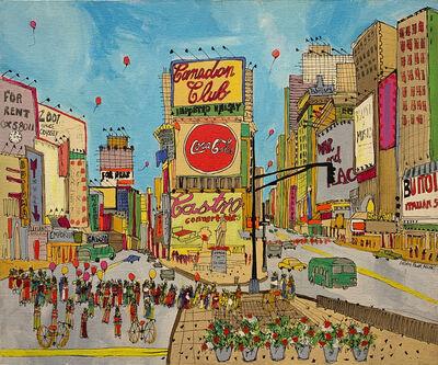 Susan Pear Meisel, 'Times Square', 1975