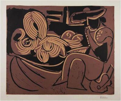 Pablo Picasso, 'Femme Couchée et Homme a la Guitare', 1959