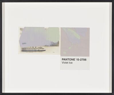 Tacita Dean, 'Pantone Pair (Violet Ice)', 2019