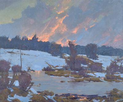 John Phillip Osborne, 'Frozen Pond'