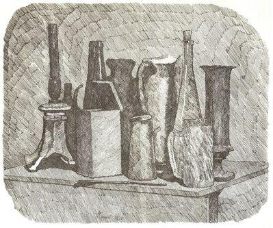 Giorgio Morandi, 'Grande natura morta con la lampada a petrolio', 1930