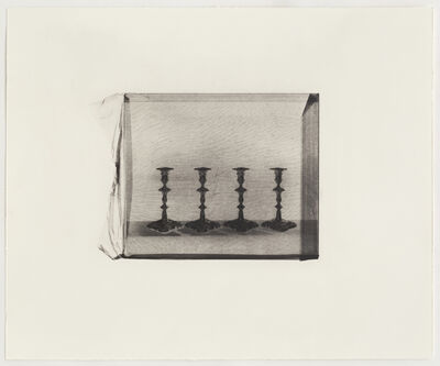 Cornelia Parker, 'Four Silver Candlesticks', 2015