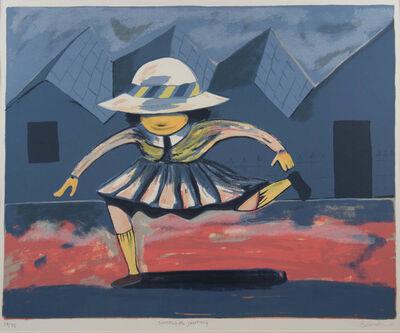 Charles Blackman, 'Schoolgirl Jumping', ca. 1989