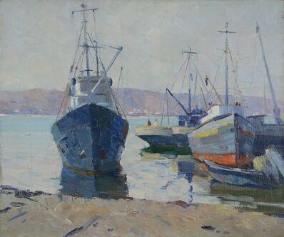 Aleksandr Timofeevich Danilichev, 'Pier', ca. 1975