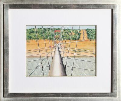 Clarence Holbrook Carter, 'Pipeline', 1955