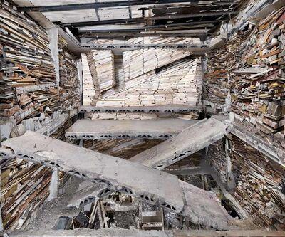 Marjan Teeuwen, 'Destroyed House Op Noord 1', 2014