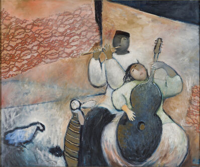 Eng Tay, 'Flutist and Guitarist', 1994