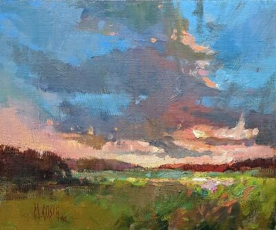 Millie Gosch, 'Sitting Pretty (Sunset Over Marsh)', 2019