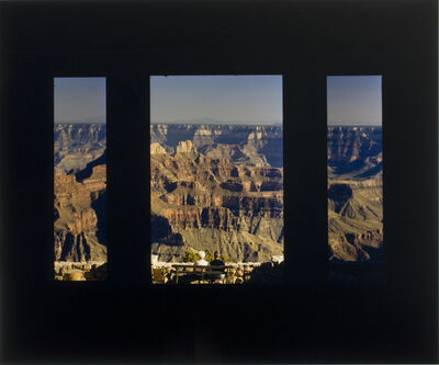 John Pfahl, 'North Rim Highway, Grand Canyon, Arizona', June 1980