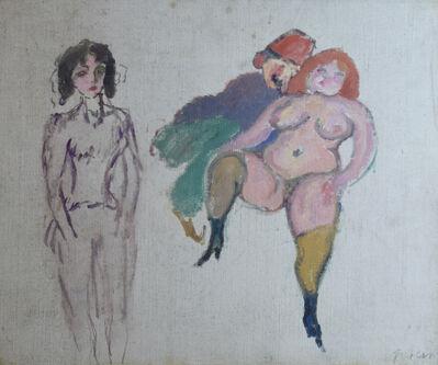 Jules Pascin, 'Deux Femmes et un Sidi', 1907