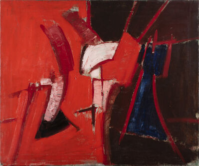 Adrian Heath, 'Red and Blue Composition', 1959