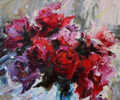 Lyudmila Agrich, 'Roses for My Valentine', 2019