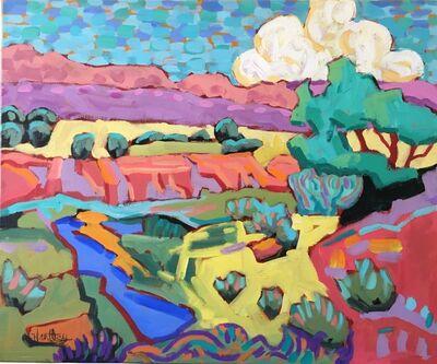 "Claudia Hartley, '""Desert Stream""', 2019"