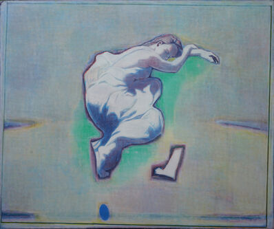 Tang Yongxiang, 'Soundly Sleeping Woman with Green', 2014
