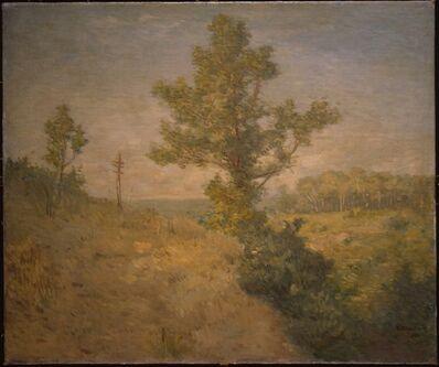 Julian Alden Weir, 'A Glimpse of the Sound', 1902