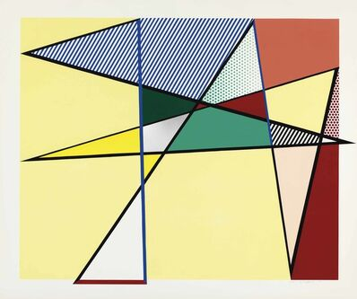 "Roy Lichtenstein, 'Imperfect 67 x 79 7/8"", from Imperfect Series', 1988"