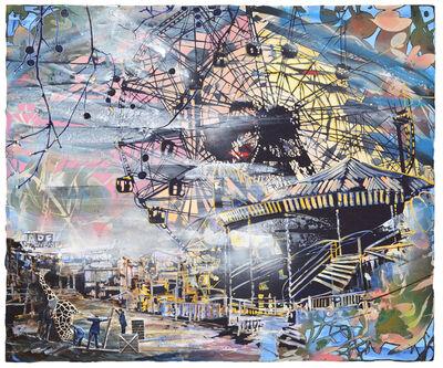 Andrea Damp, 'Irrlichter sind in der Stadt', 2020