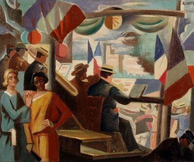 André Lhote, '14 juillet en Avignon', 1930