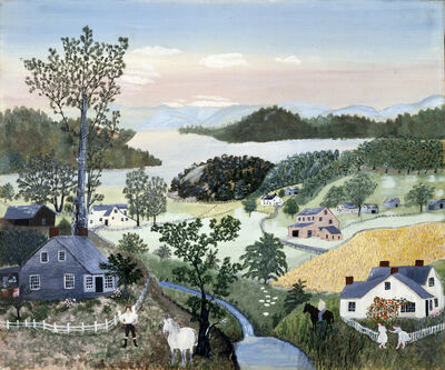 Grandma Moses, 'A Beautiful World', 1948