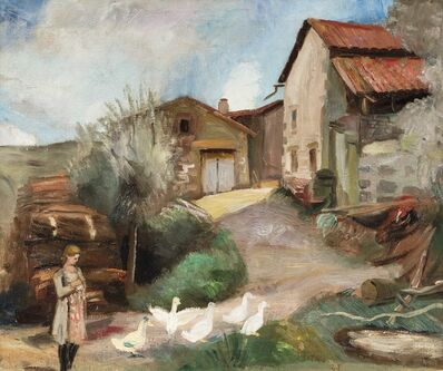 Jacques Gotko, 'La ferme', executed in 1923