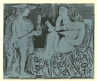 Pablo Picasso, 'Deux Femmes', 1962