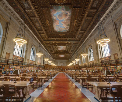 Richard Silver, 'New York Public Library'