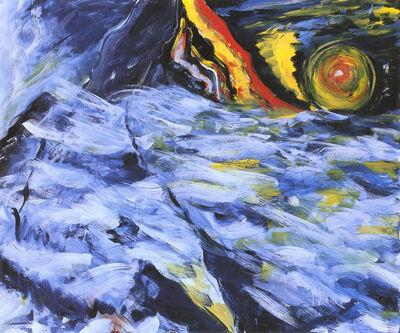 Bernd Zimmer, 'Nebel-Sonne (Insel)', 1982