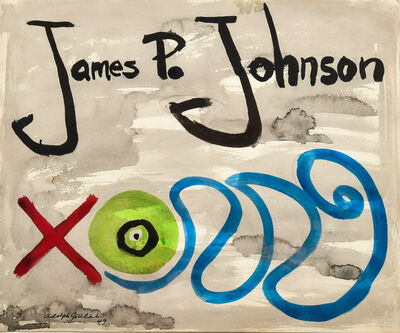 Adolph Gottlieb, 'James P. Johnson Love', 1949
