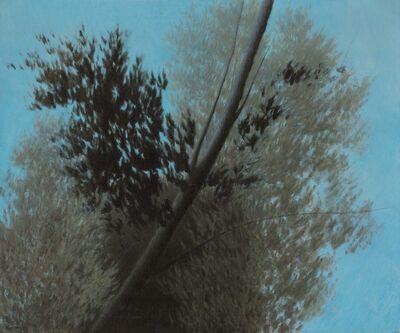 Robert Kipniss, 'Blue and Silver'