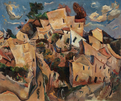 William Henry Johnson, 'Cagnes-Sur-Mer', c. 1928-29