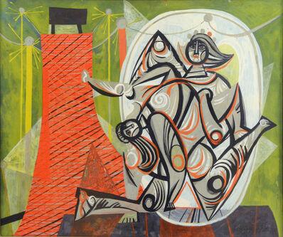 Byron Browne, 'Circus Acrobats', 1946
