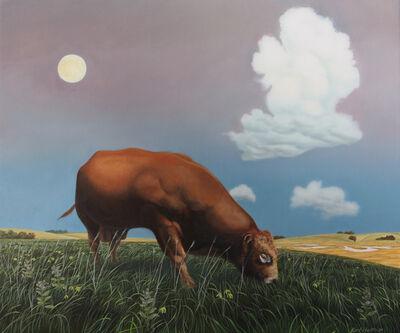 Karl Hartman, 'Moon Over Red Bull', 2019
