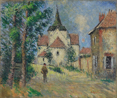 Gustave Loiseau, 'Le Village Animé', ca. 1923