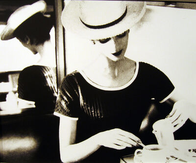 Lillian Bassman, 'Carmen Having Tea', ca. 1950