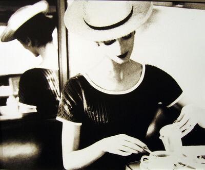 Lillian Bassman, 'Carmen Having Tea', ca. 1950