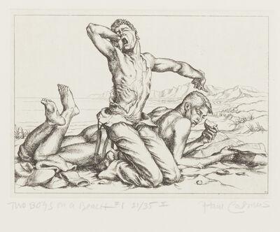 Paul Cadmus, 'Two Boys on a Beach', 1938