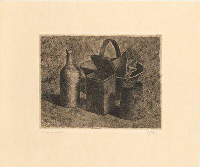 Giorgio Morandi, 'Natura morta con il cestino del pane', 1921